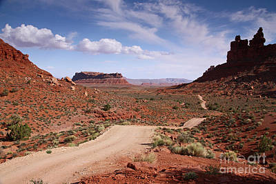 Photograph - Into The Valley Of The Gods by Butch Lombardi