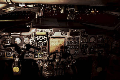 Photograph - Into The Vintage Cockpit by Jason Politte