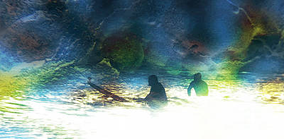 Surf Lifestyle Digital Art - Into The Void by Robert Ball