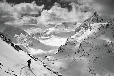 Alps Photograph - Into The Wild by Jaff Mazouni