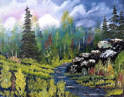 Painting - Into The Wilderness by Roy Gould