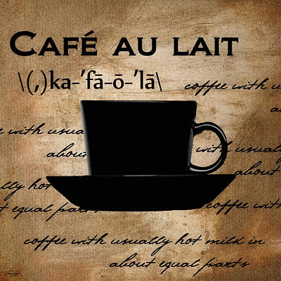 Caffe Digital Art - Into You by Lourry Legarde