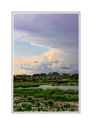 Intracoastal Colours Art Print