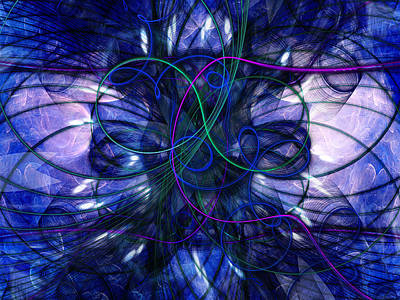 Digital Art - Intricacy by Elizabeth S Zulauf
