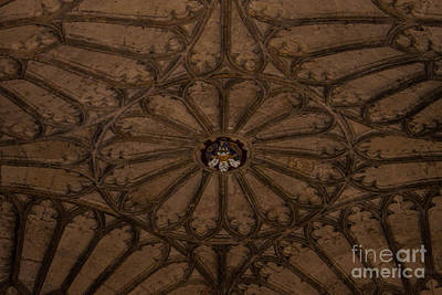 Wall Art - Photograph - Intricate Ceiling by Sara Ricer