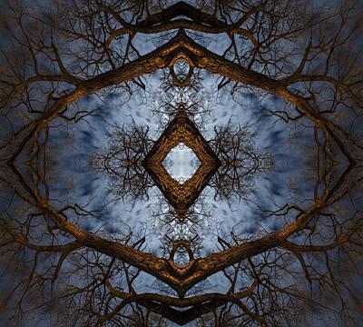 Intricate Eye In The Sky Art Print