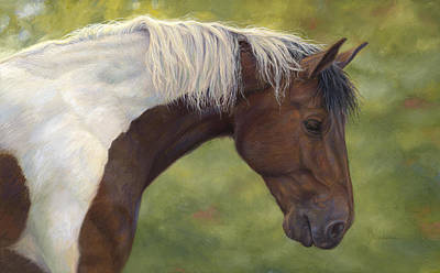 Intrigued Art Print by Lucie Bilodeau