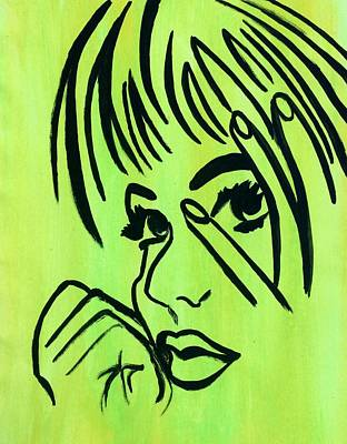 Painting - Introspection by Surbhi Grover