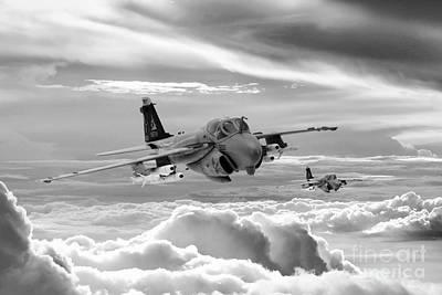 Best Sellers - Transportation Digital Art - Intruder by Airpower Art