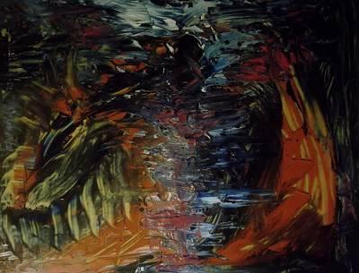 Since Painting - Intruder by Karen Lillard