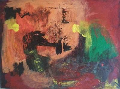 Theft Painting - Intruders by Ed Ciolina