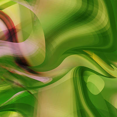 Digital Art - Intrusion - Digital Abstract Roy by rd Erickson