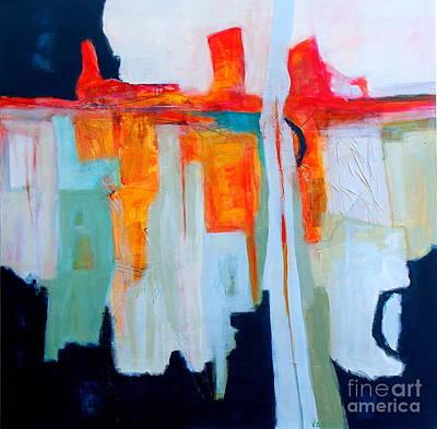 Intuition IIi Art Print by Virginia Dauth