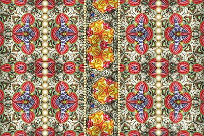 Kaleidoscope Mixed Media - Intuitive Love by Laurie Kammer