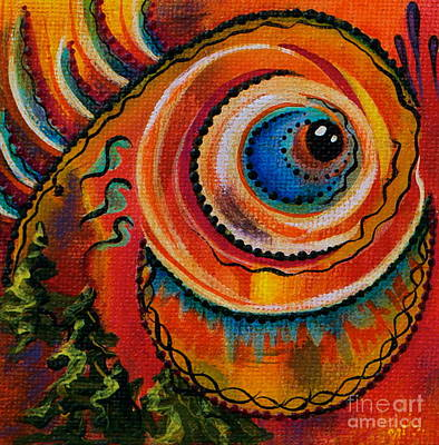 Intuitive Spirit Eye Art Print