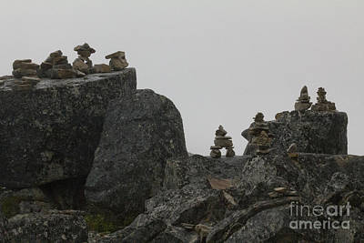 Photograph - Inuksuk Ridge by Alycia Christine