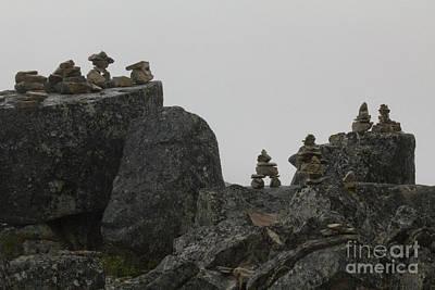 Photograph - Inuksuk Ridge by Alycia Christine