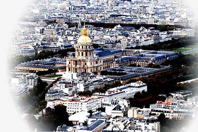 Invalides Paris Art Print by Jacqueline M Lewis