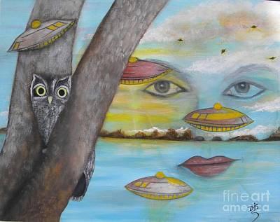Painting - Invasion by Iris  Mora