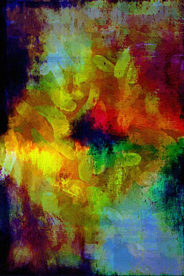 Mental Painting - Invasion by John Haldane