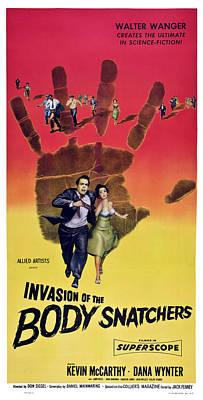 Films By Don Siegel Photograph - Invasion Of The Body Snatchers, Us by Everett