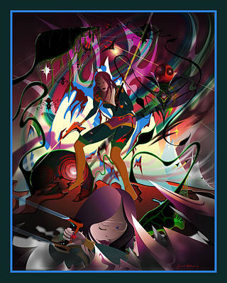 Digital Art - Invasion Of The Hypnonauts by James Mulvania
