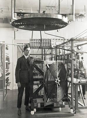 Inventor Henri Fenal Art Print