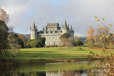 Photograph - Inveraray Castle by David Grant