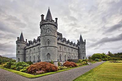 Castle Photograph - Inveraray Castle by Marcia Colelli