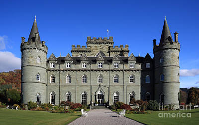 Inveraray Castle Art Print by Maria Gaellman