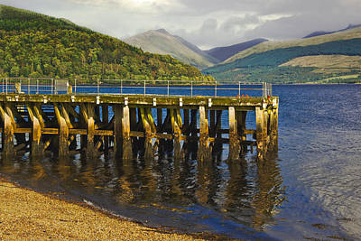 Photograph - Inverary Harbour - Loch Fyne - Scotland by Jane McIlroy