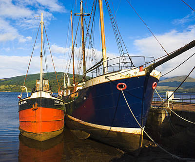 Photograph - Inverary Harbour - Scotland by Jane McIlroy