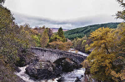 Invermoriston Bridge Art Print