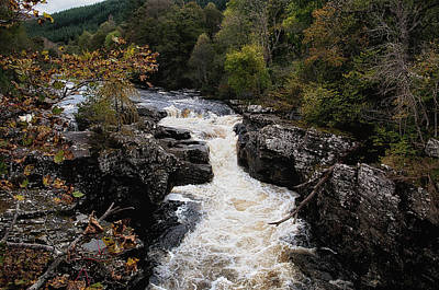 Photograph - Invermoriston River by Jean-Noel Nicolas