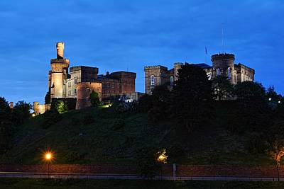 Photograph - Inverness At Night by Mike Farslow