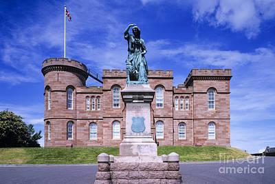 Flora Macdonald Photograph - Inverness Castle by Derek Croucher