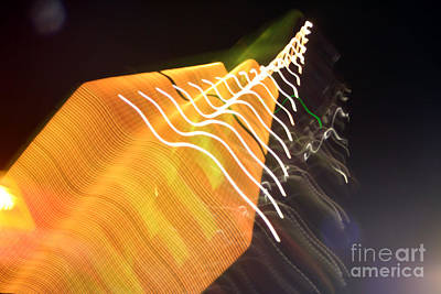 Photograph - Inverter Abstract by Susan Stevenson