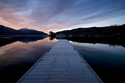 Photograph - Inveruglus Jetty by Stephen Taylor