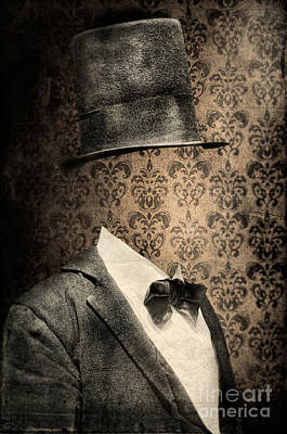 Photograph - Invisible Man In Top Hat And Bow Tie by Jill Battaglia
