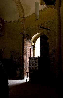 Photograph - Invitation To The Templar Church by Lorraine Devon Wilke
