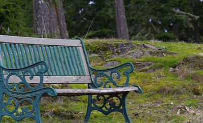 Photograph - Inviting Bench by Marilyn Wilson