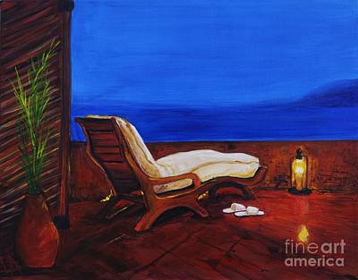 Painting - Inviting Vernda by Leslie Allen