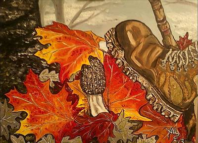Involuntary Mushroom Slaughter Art Print
