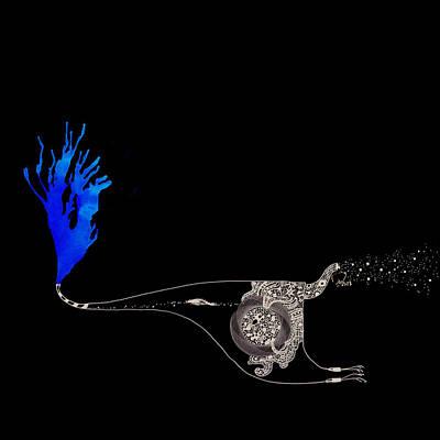Involved Whit Rebirth Art Print by Aryan Khani