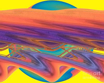 Art Print featuring the digital art Inw_20a6039 Weaving by Kateri Starczewski
