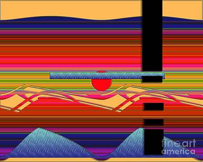 Art Print featuring the digital art Inw_20a6056 Wellsprings by Kateri Starczewski