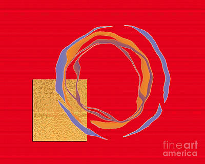 Art Print featuring the digital art Inw_20a6069 Naklank by Kateri Starczewski