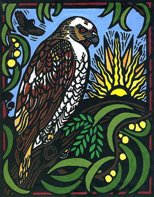 Io Hualalai Print by Lisa Greig
