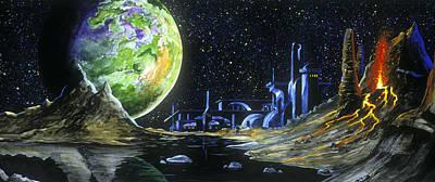 Painting - Io On The Horizon by Richard Mordecki