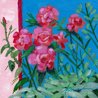 Painting - Ioannina Garden by Adele Bower